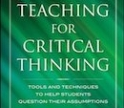 Teaching for Critical Thinking book cover