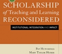 The Scholarship of Teaching and Learning Reconsidered Book Cover