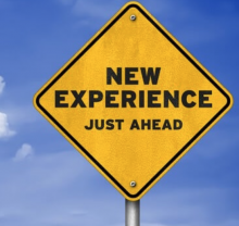 new experience sign