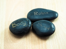 wellness zen rocks
